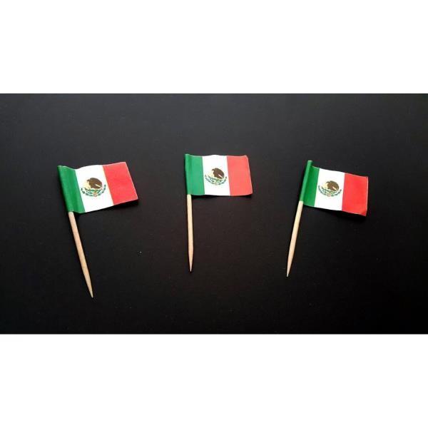 Mexico Flag Pick